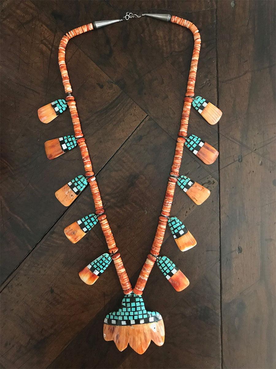 Santo Domingo Spiny Oyster Shell Necklace