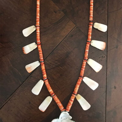 Santo Domingo Spiny Oyster Shell Necklace
