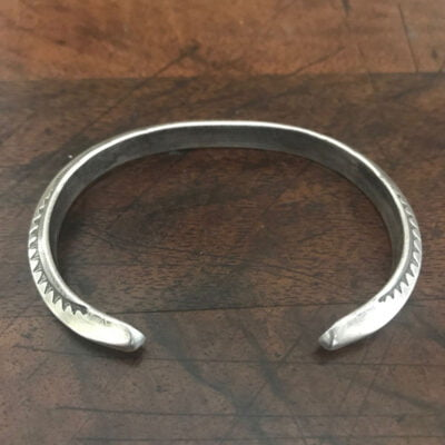 Navajo Silver Bracelet c 1940