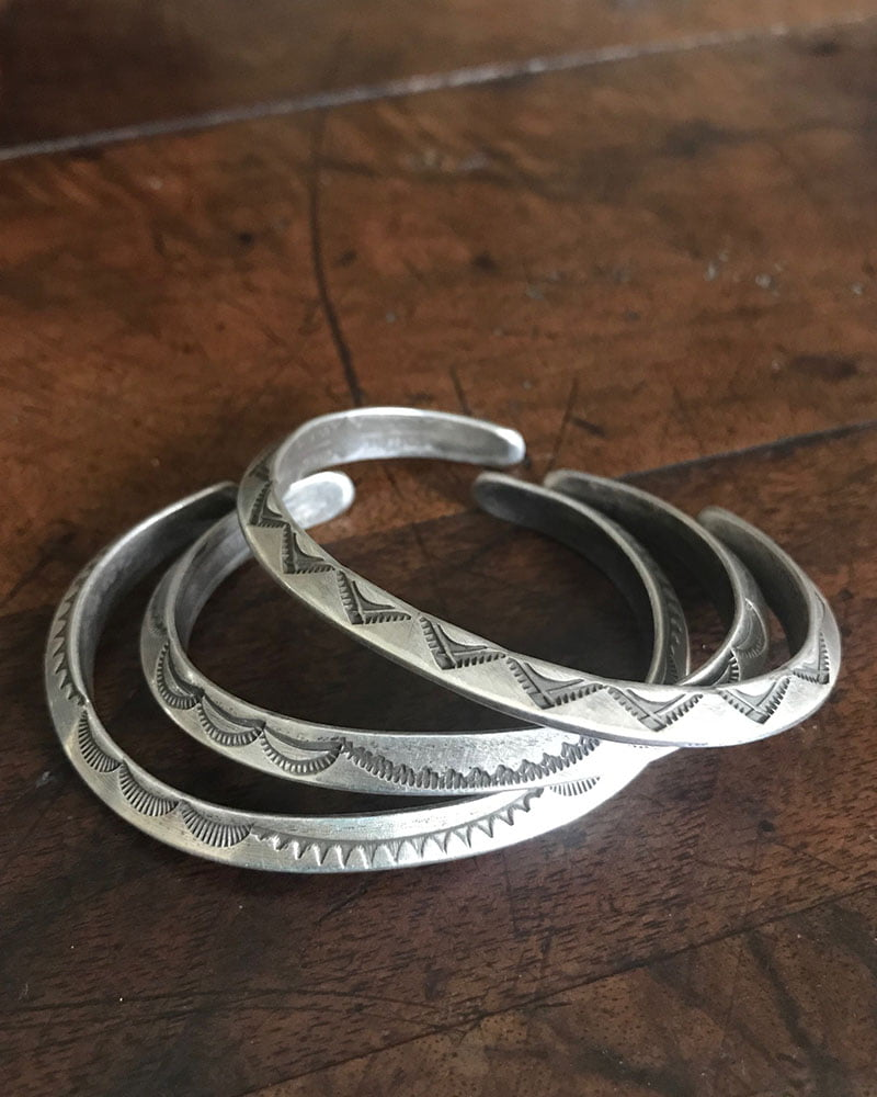 Navajo Silver Bracelets