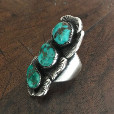 Dan Simplicio Green Nugget Ring