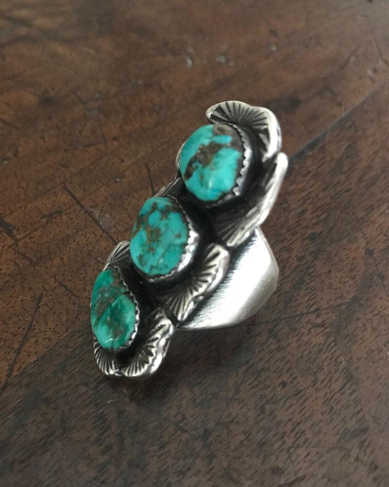 Dan Simplicio Green Nugget Ring