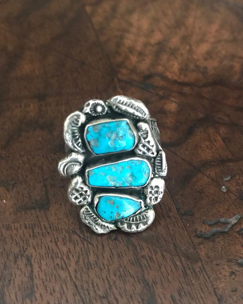 Dan Simplicio Silver Stamped Ring