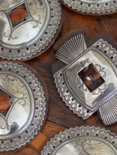 Mckee Platero Concho Belt