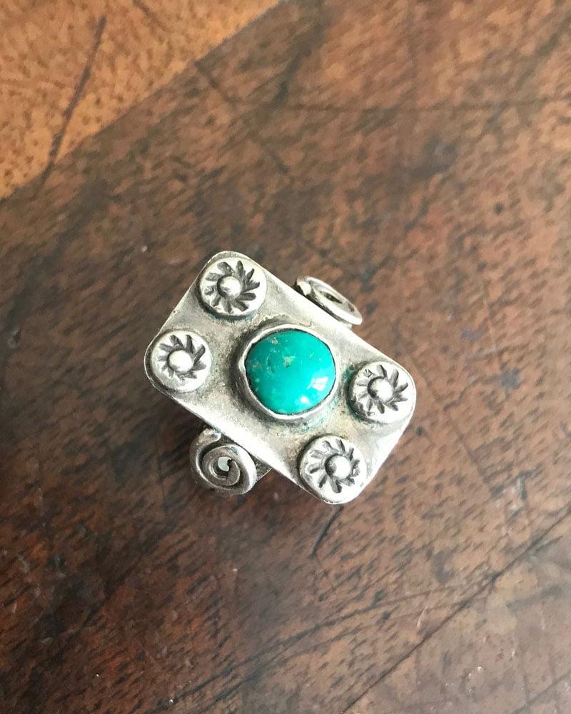 Petite Fit Navajo Ring c1920-30's