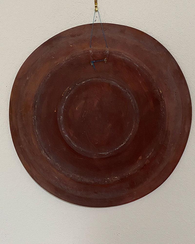 Ceramic Plate of Patron Saint of Kitchens-San Pasquale