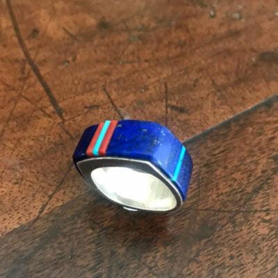 RICHARD CHAVEZ Lapis Ring